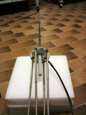 homemade ground plane antenna for VHF-UHF