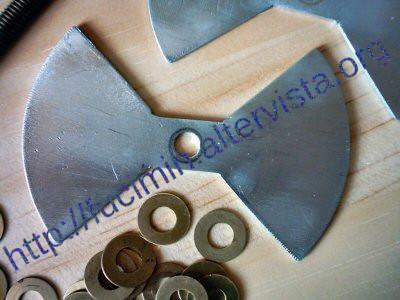 homemade aluminium butterfly rotor