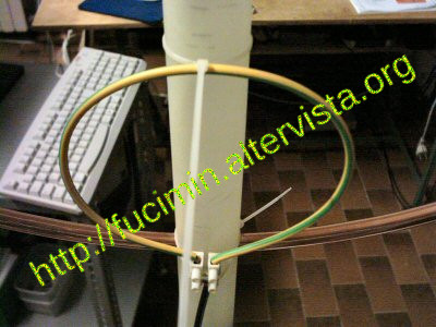 coupling loop for magnetic loop antenna