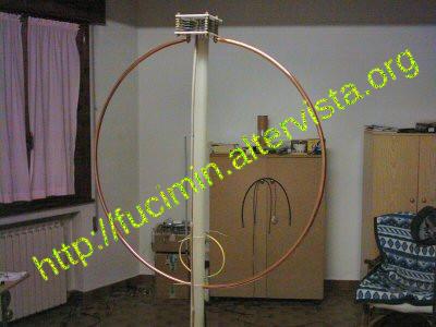 Antenna Loop Magnetica Autocostruita Per La Banda Cb 27 Mhz
