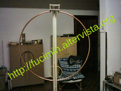 homemade magnetic loop antenna for CB