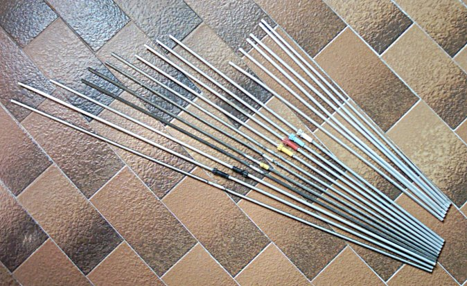 recycled antenna elements for homemade yagi antenna pmr446